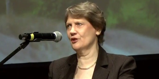 """Former New Zealand Prime Minister, Helen Clark: """"The private sector must eliminate deforestation from its supply chains without delay."""""""