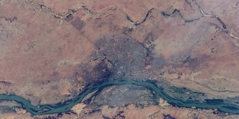 Niger, where local farmers have restored 5 million hectares of degraded land. Image: NASA