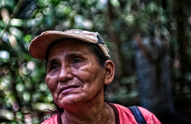 Brazil nut concession owner Felicitas Ramirez Surco in the Peruvian Amazon. For Felicitas, as well as for countless other smallholder farmers, land tenure rights are crucial, but not the sole factor in securing their livelihoods. Marco Simola  CIFOR