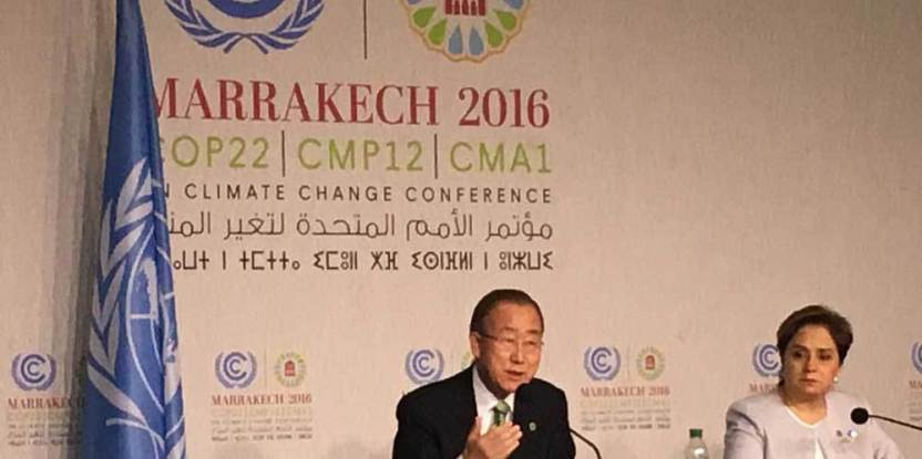 Perundingan iklim Marrakesh penting karena 'buku aturan' untuk pelaksanaan Perjanjian Paris akan diadopsi. UN Photo
