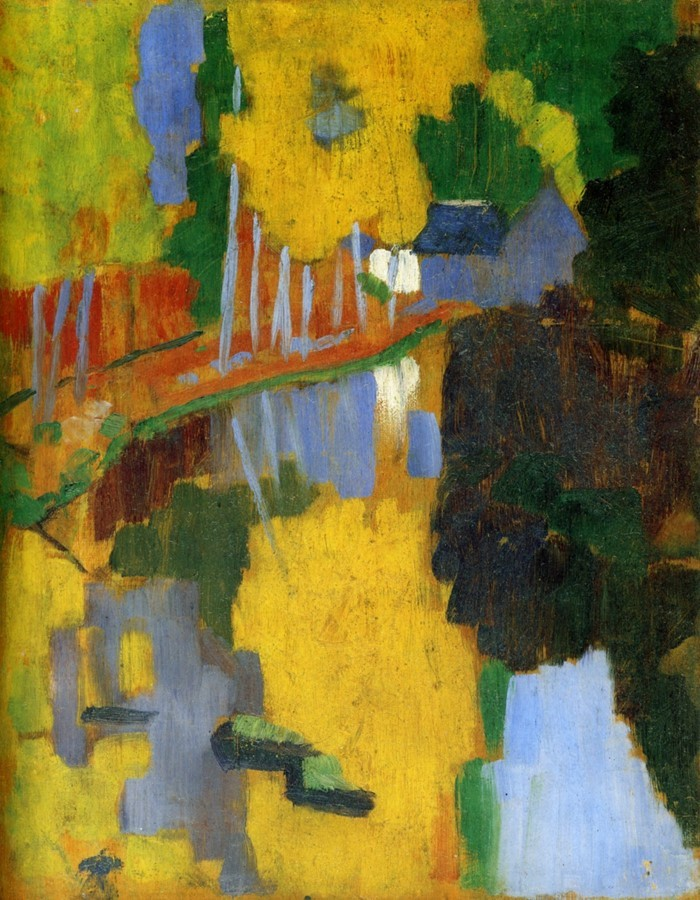 citibreak.com - Paul Serusier - Le Bois d'Amour