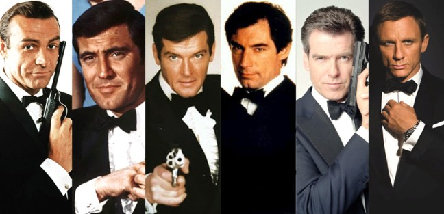 James Bond - Acteurs