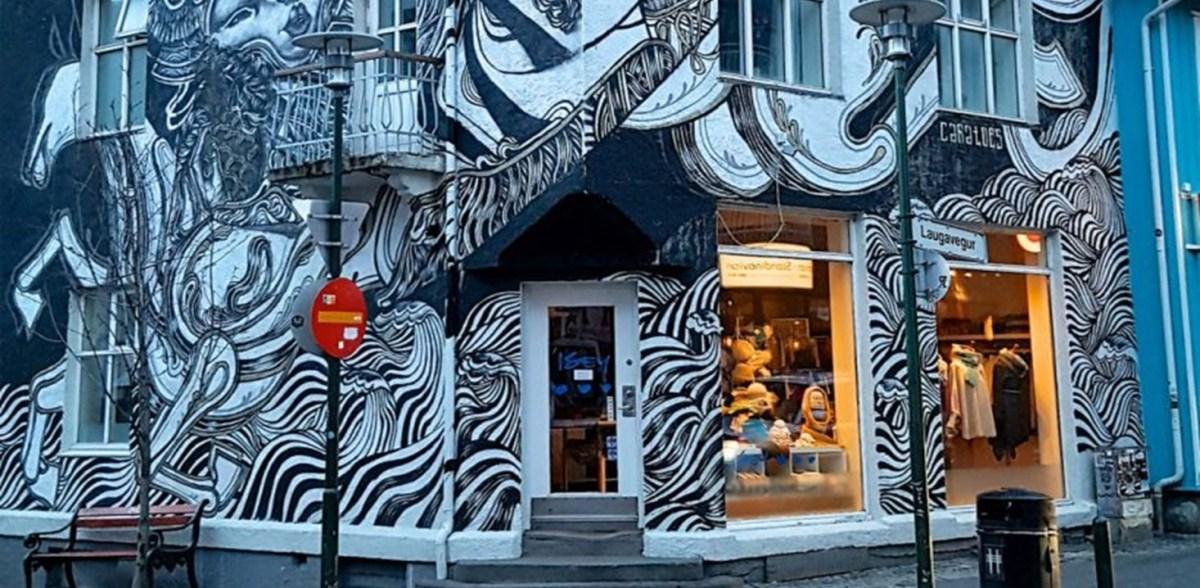 Street Art à Reykjavik (Islande)