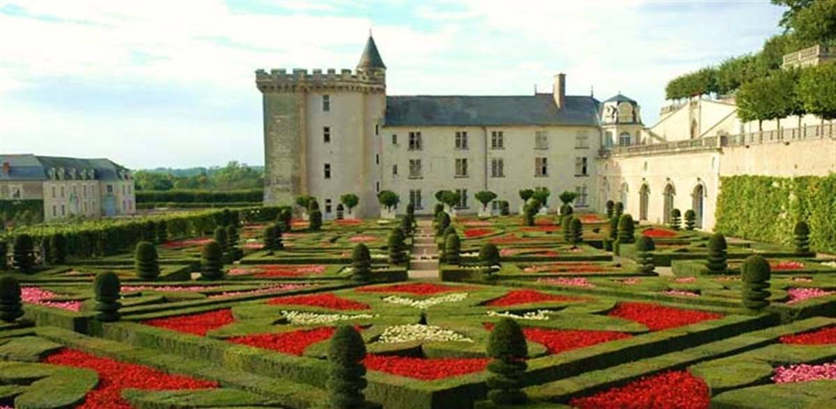 Château de Villandry : des jardins extraordinaires