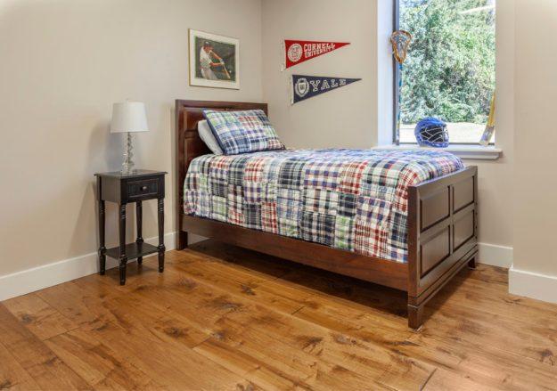 Maple wide plank hardwood floors