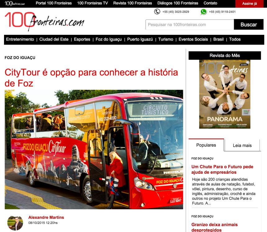 city tour em foz do iguaçu