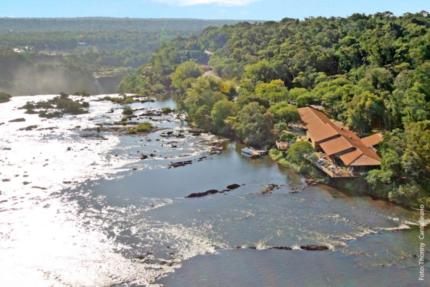 Restaurante Porto Canoas nas Cataratas do Iguaçu