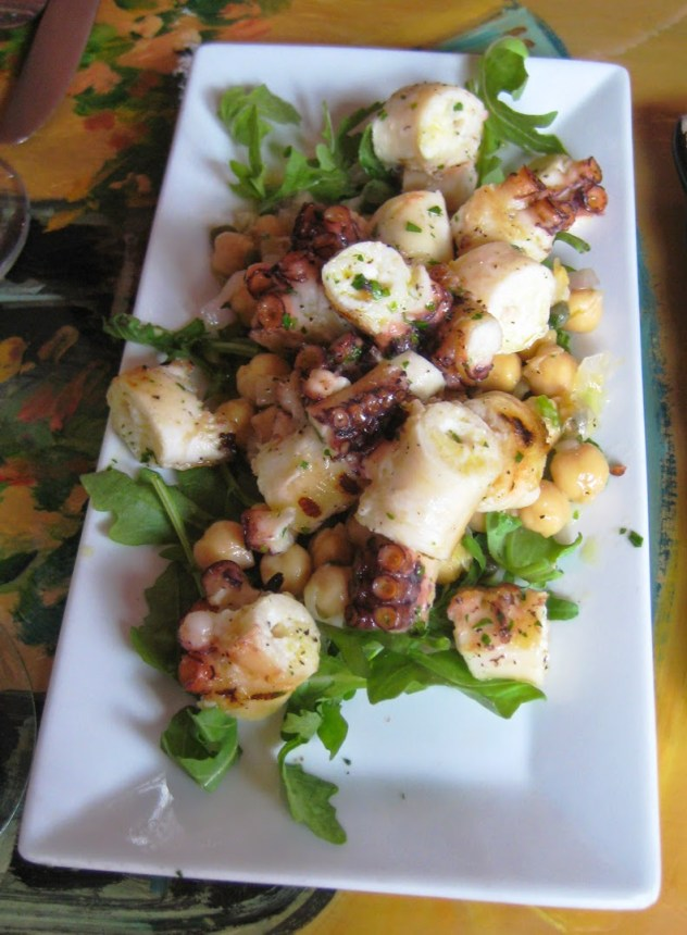 Cafe Gia octopus Baltimore Little Italy