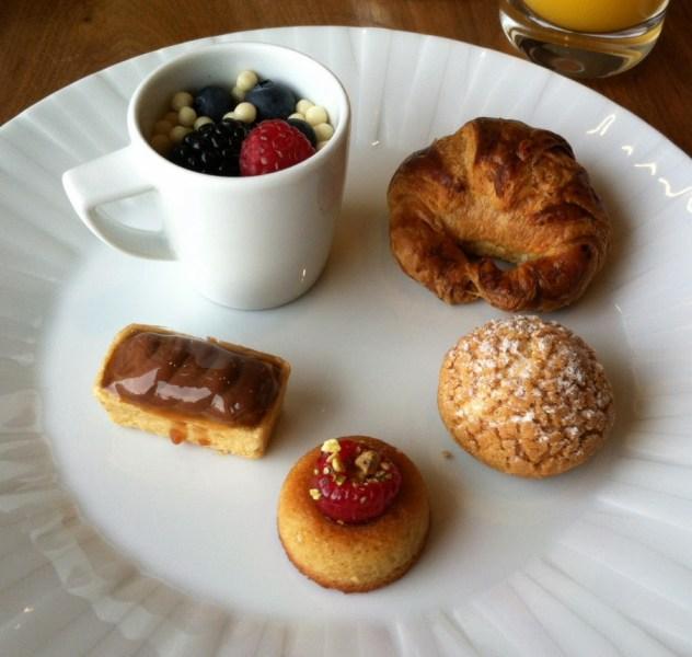 Wit & Wisdom brunch desserts Baltimore