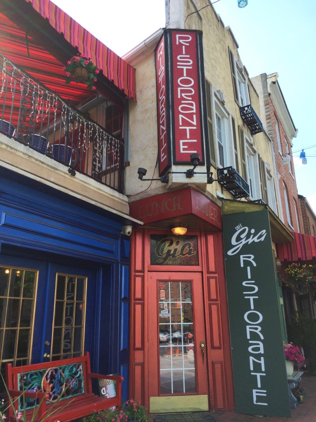 cafe gia Baltimore Maryland Little Italy