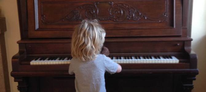 An Old Piano Gets a Romantic Refinish