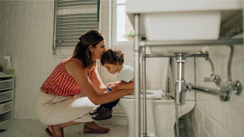 Enseña a tu hijo a ir al baño por su cuenta