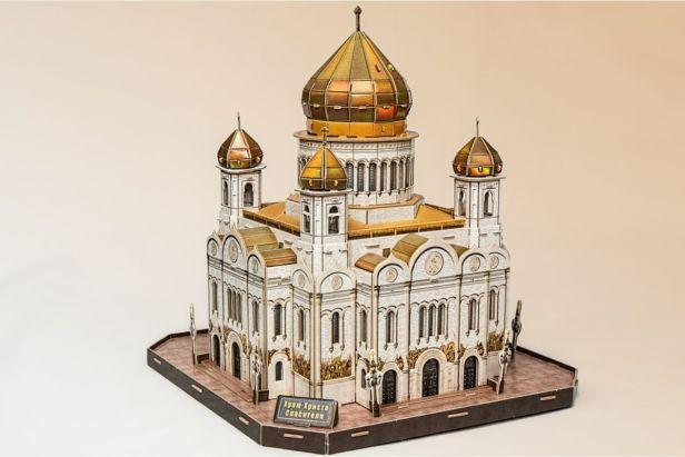 castillo ruso rompecabezas 3d -Claro Shop