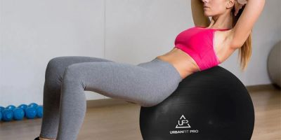 Logra un vientre plano con estos ejercicios de pelota Fitness