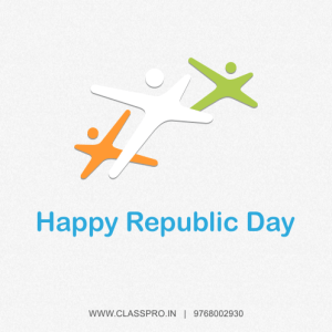Happy Replublic Day from Classpro
