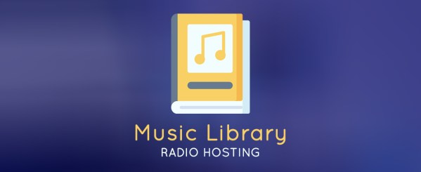 music library radio hosting