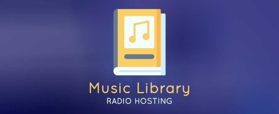 music library radio hosting