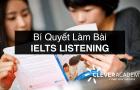 Bí quyết làm bài Listening IELTS