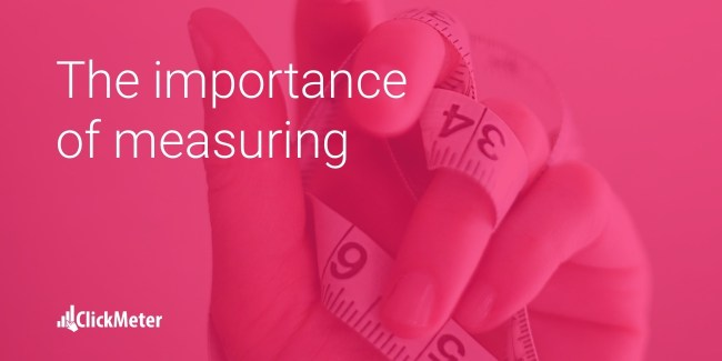 the importance of measuring