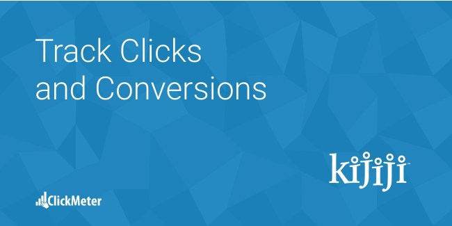 kijiji track clicks conversions