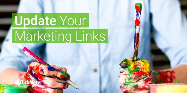 the advantage of editing a marketing link