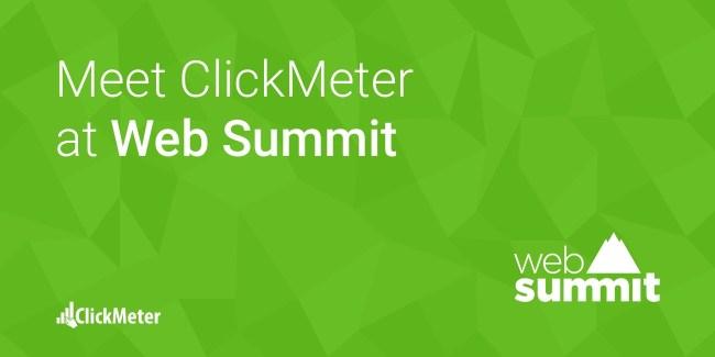 Clickmeter @WebSummit