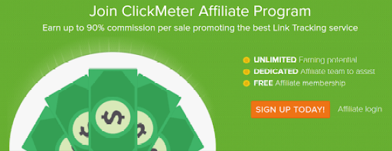 Clickmeter - top affiliate programs to drive revenue