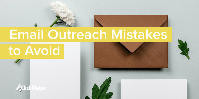 Email outreach mistakes to avoid