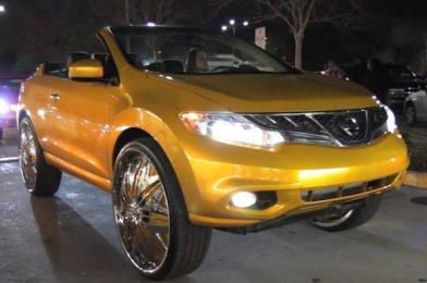 Nissan-Murano-Cross-Cab jante 30 inch