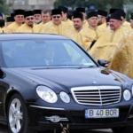 Imagini fabuloase cu masinile preotilor din Romania