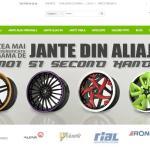 Site nou www.jante-aliaj.com: Jante originale, jante second hand
