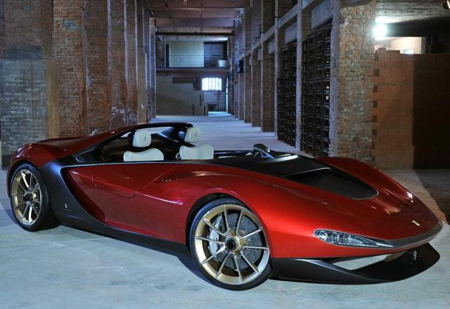2013 Ferrari Sergio Pininfarina; top car design rating and specifications