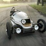 Cea mai atipica masina electrica din lume are trei roti: Morgan EV3