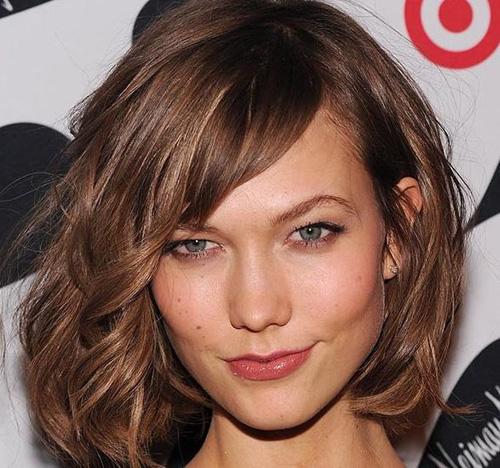 La top model Karlie Kloss, tra le prime a lanciare il trend