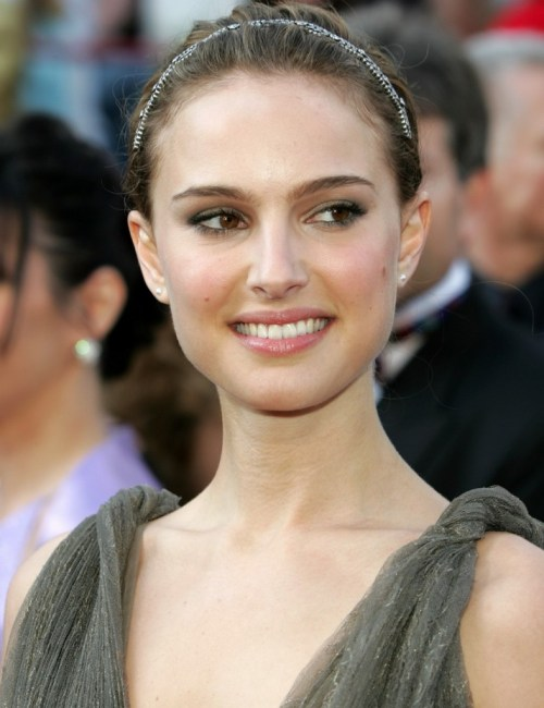 Actress Natalie Portman arrives at the 77th annual Academy Awards