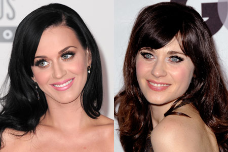Katy a sinistra, Zooey a destra