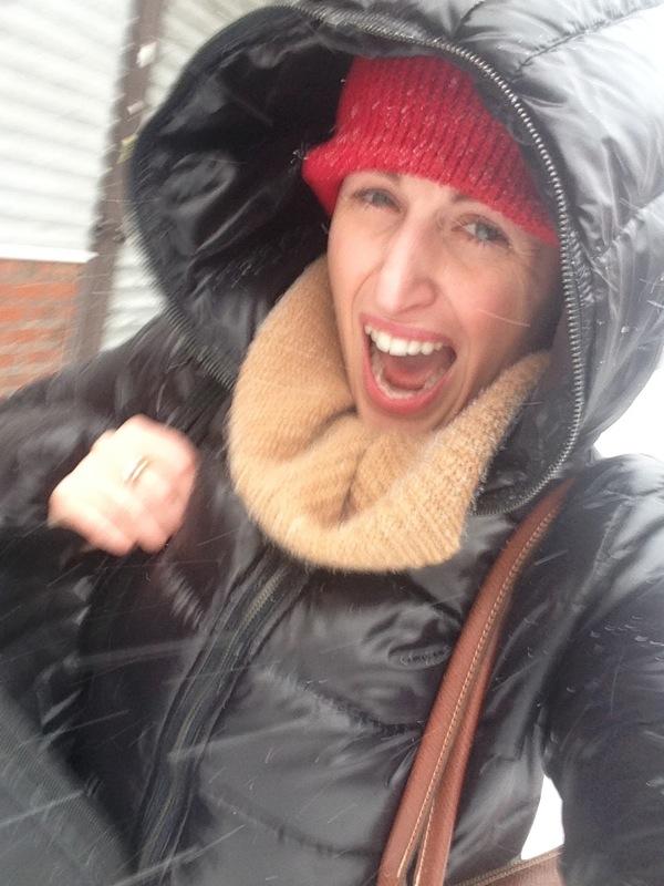 yey che bella la neve…come prendere l'influenza..