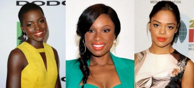 Lupita Nyong'O, Jennifer Hudson e Tessa Thompson