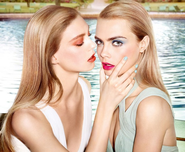 YSL-Bleus-Lumiere-Makeup-Collection-for-Summer-2014-promo