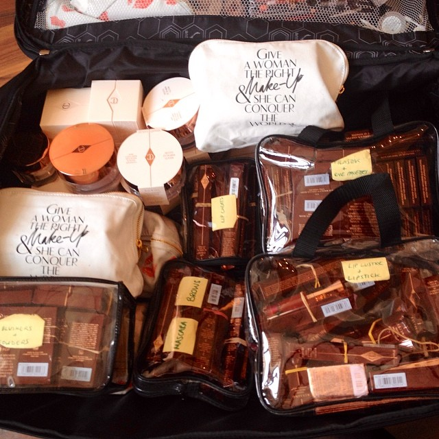 La valigia (ma non sarà stata l'unica) di Charlotte Tilbury!