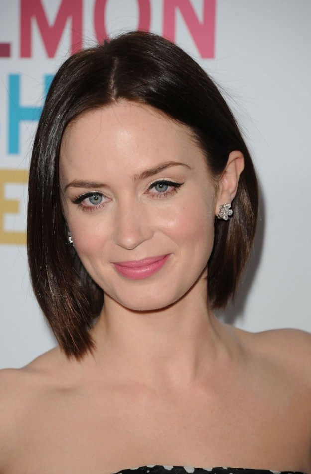 Emily Blunt at Salmon Fishing in the Yemen Premiere