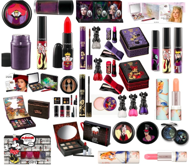 clio disney makeup collections