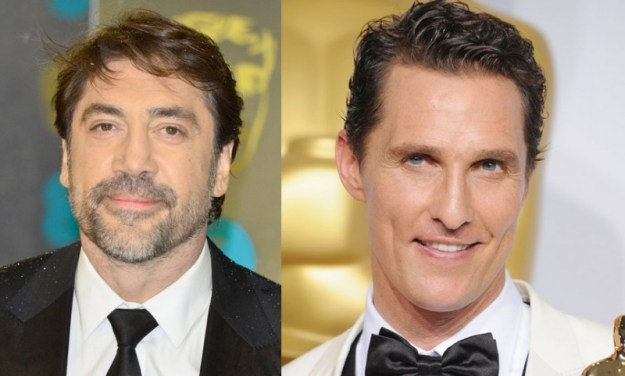 Javier Bardem e Matthew McConaughey: sono del 1969, hanno 45 anni