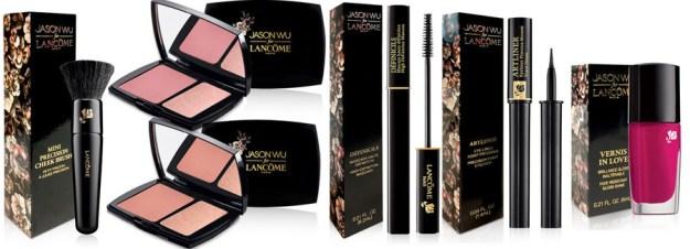 Clio_Lancome-Makeup-Collection-for-Fall-2014-blush-nail-polish-mascara