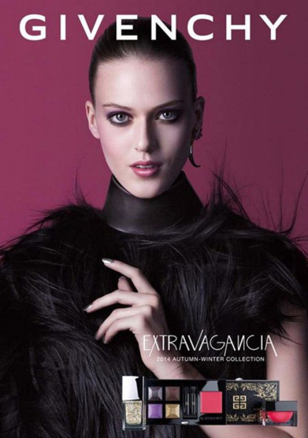 Givenchy-Extravaganzia-Makeup-Collection-for-Autumn-2014-promo