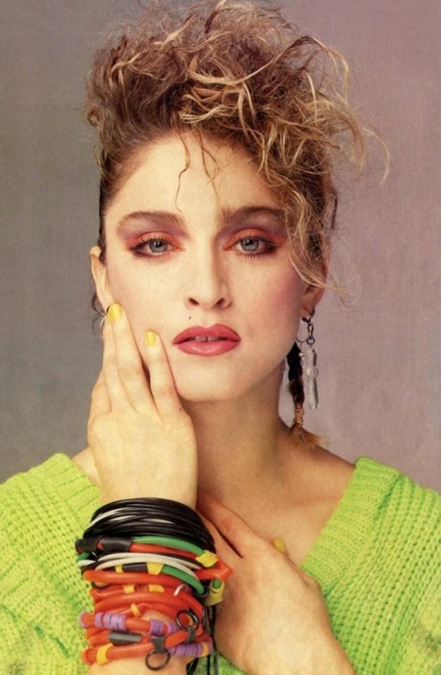 Madonna e i suoi colori pop!