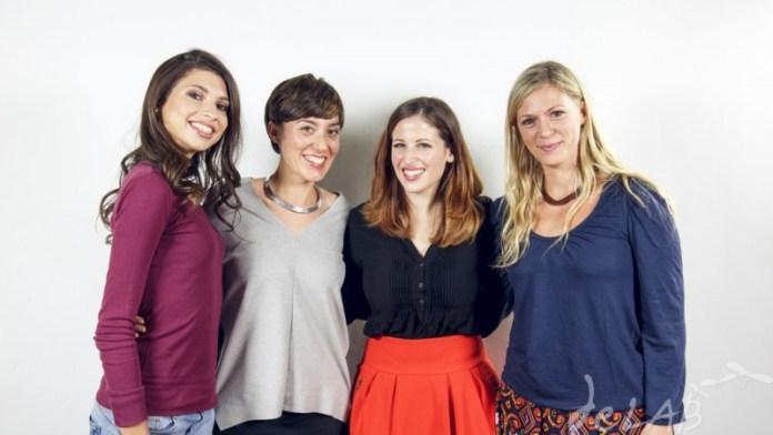 """Eccoci qua, protagoniste e ideatrici: Natalia, Io, Irene e Lucia"""