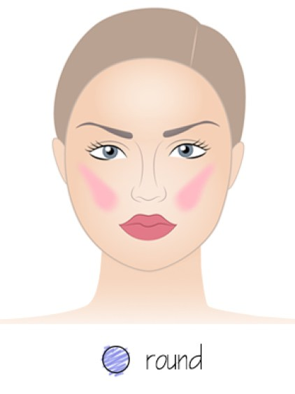 blush-application-for-round-face-shape