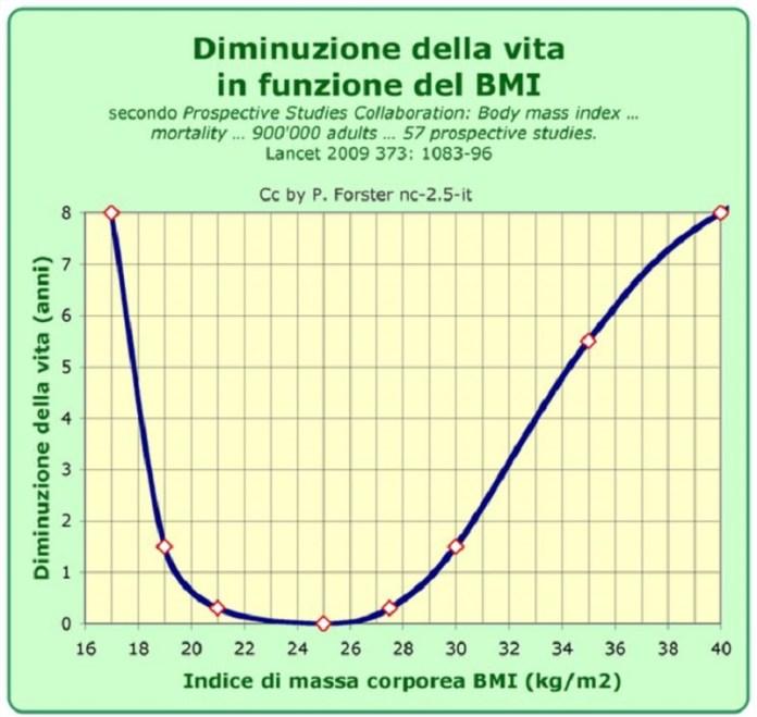 cliomakeup-peso-ideale-6-curva-relazione-BMI-mortalità