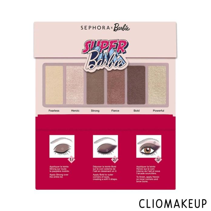 cliomakeup-recensione-palette-sephora-x-barbie-super-barbie-6-eye-shadow-palette-1